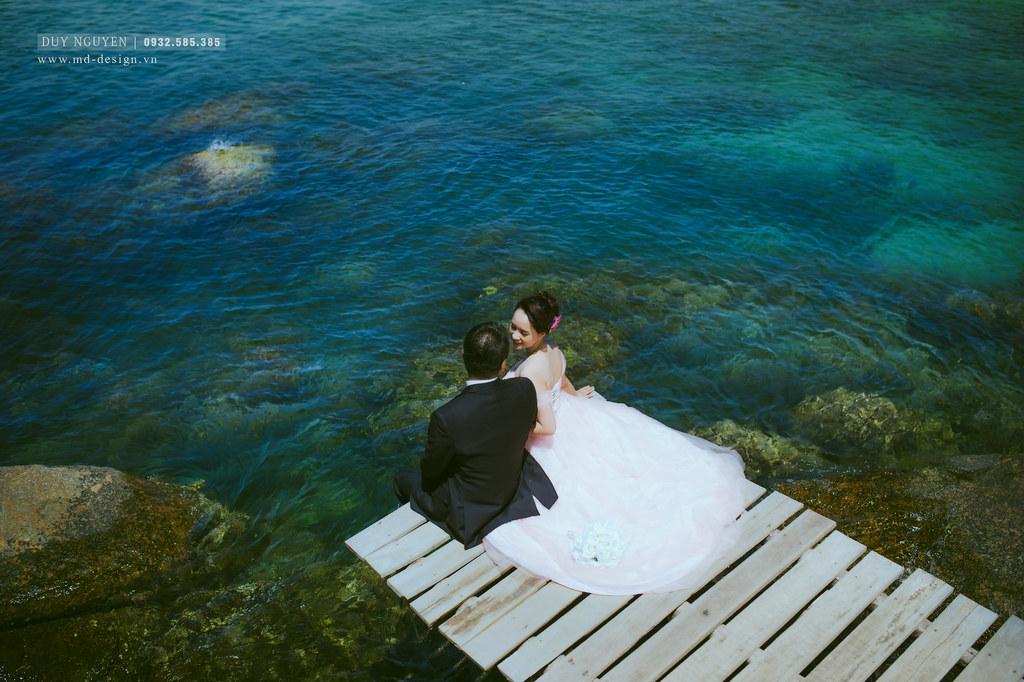 ảnh cưới biển lãng mạn đà nẵng