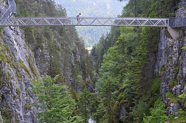 Leutasch Gorge, Austria