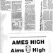 1986 AHS Football scanned newspaper article p021 #AmesHighClassof1986 #AHS1986football #AHS1986 Knight's three TDs help Ames bury East  Ames Hi Aims High