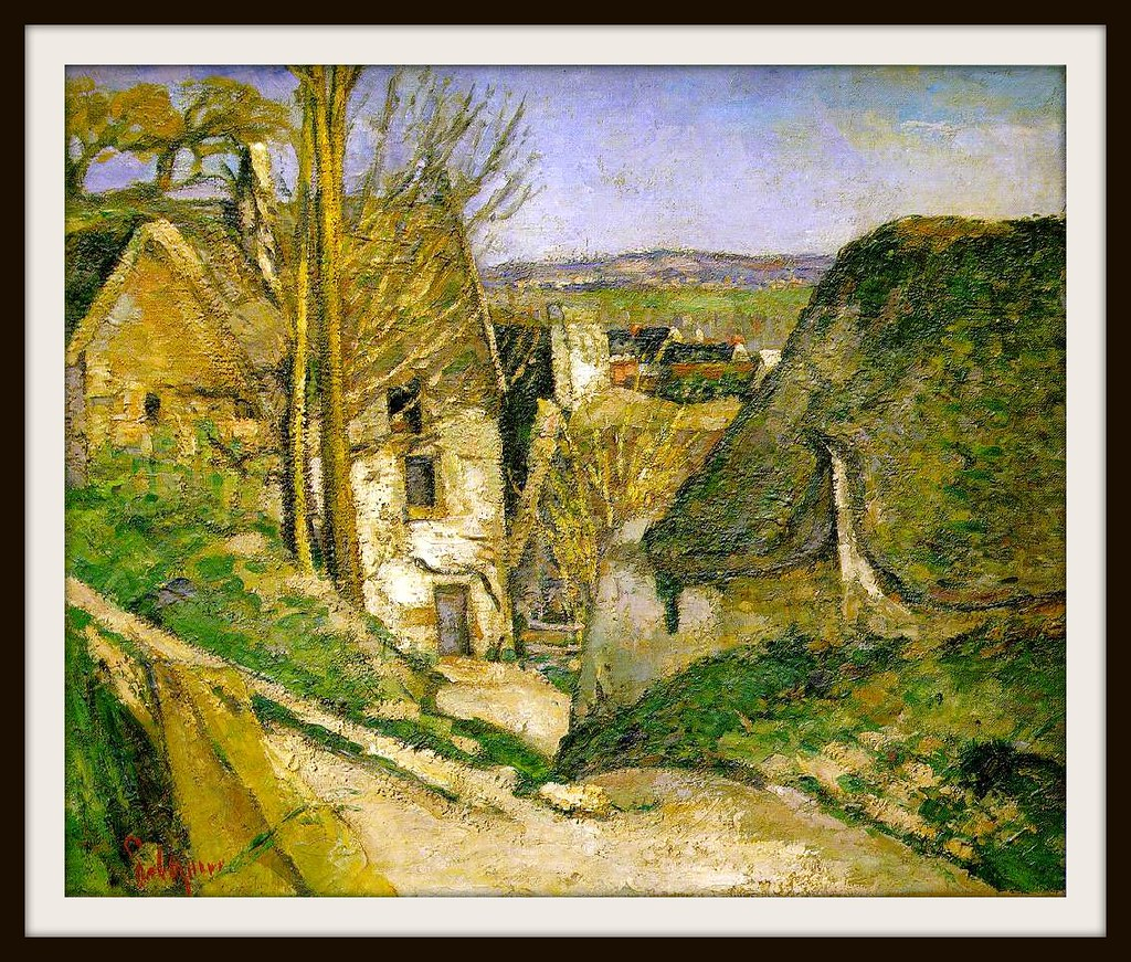 The Hanged Man's House by Paul Cezanne, 1873.