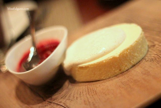 Cafe Causette Mandarin Cheesecake