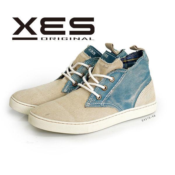 休閒鞋,帆布鞋,高筒鞋,男鞋,牛仔藍