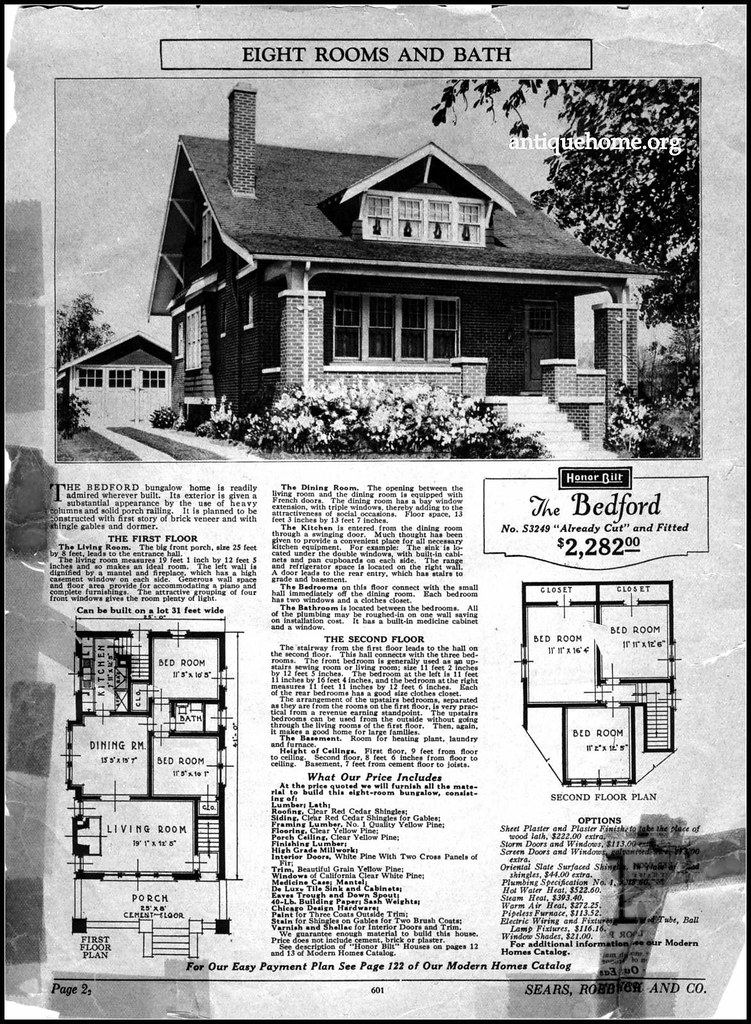 1926 sears special supplement the bedford sears kit house flickr. Black Bedroom Furniture Sets. Home Design Ideas