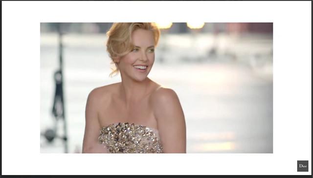 'Charlize Theron para J'adore Eau de Toilette'