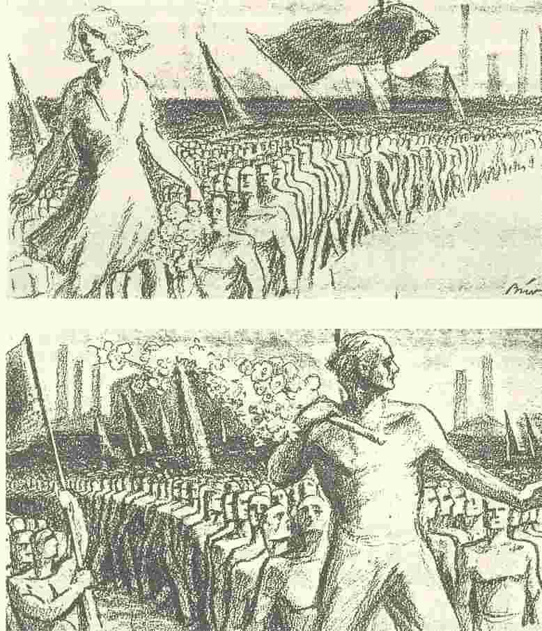 德國,1930年五一慶祝海報