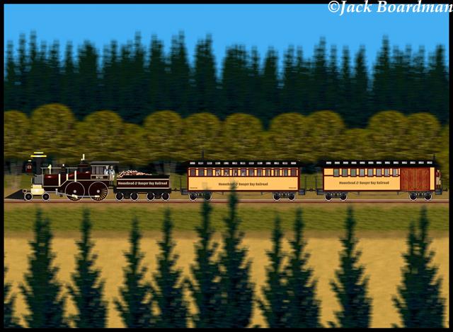 Aboard the Adventure Train ©Jack Boardman