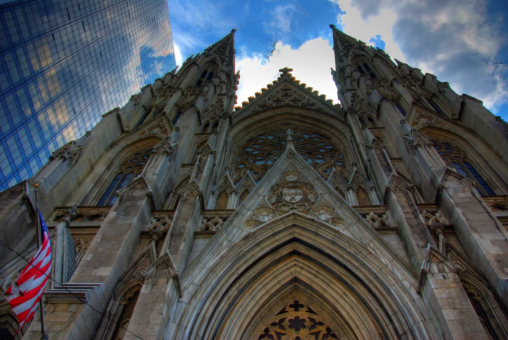 St. Patrick's Cathedral, New York City. Credit Bryce Edwards, flickr