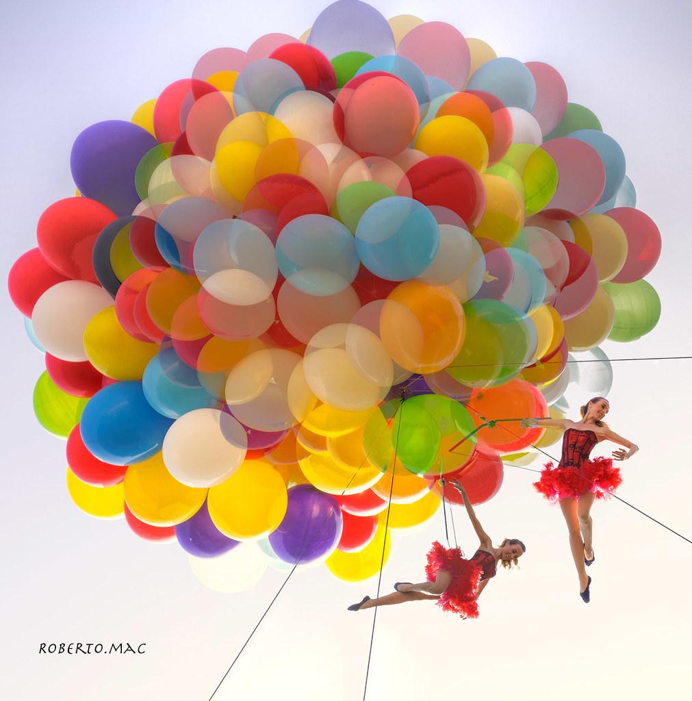 Buongiorno amici un giro con i palloncini fino a toccare i for Foto buongiorno gratis