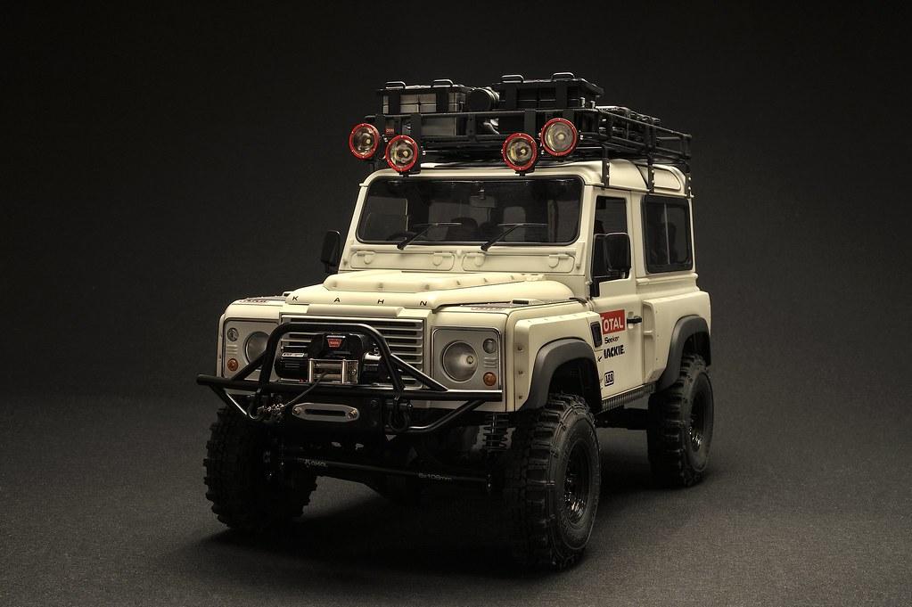 1 10 Scale Rc Scx10 Rc4wd Defender D90 Kahn Design Custom