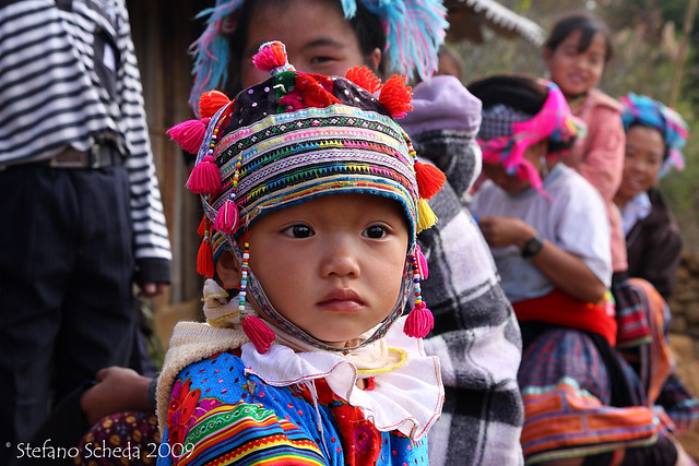 Latest village child - Lào Cai, Vietnam