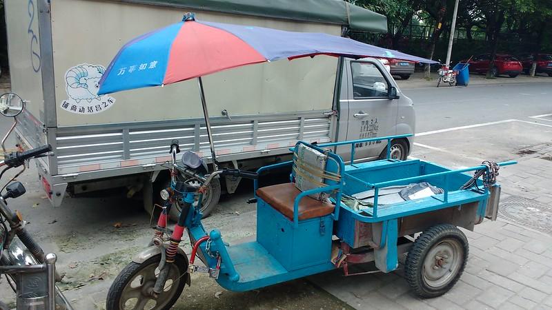 guangzhou bike umbrella