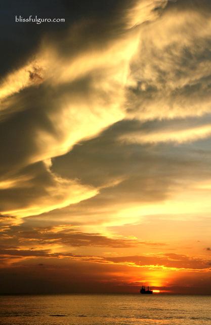 Morong Bataan Beach Sunset