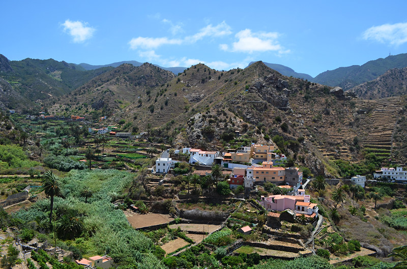 Vallehermoso, La Gomera, Canary Islands