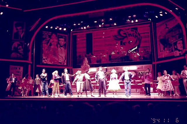 Grease at West End London 2