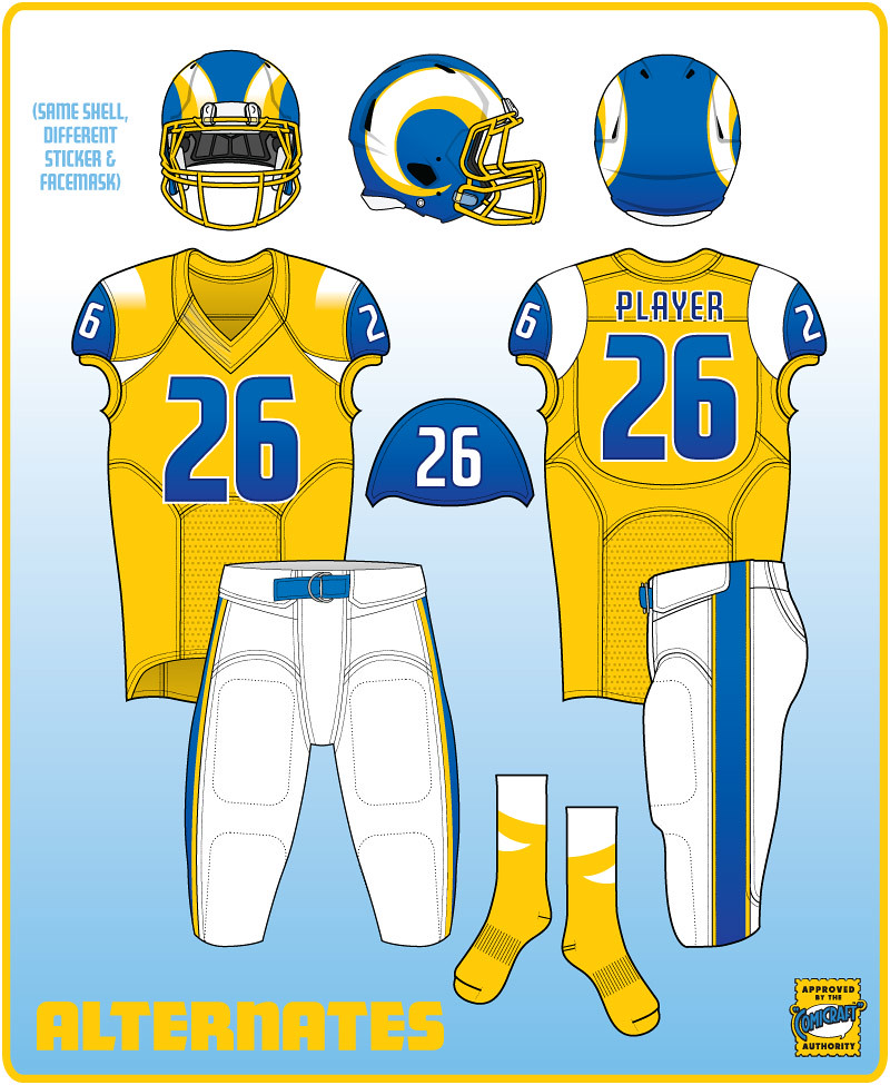 Uni Watch contest results -- How you d redesign the Rams for return ... 23072134f