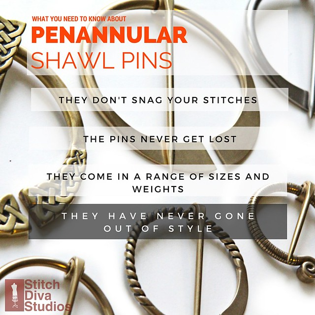 Reasons to love penannular shawl pins