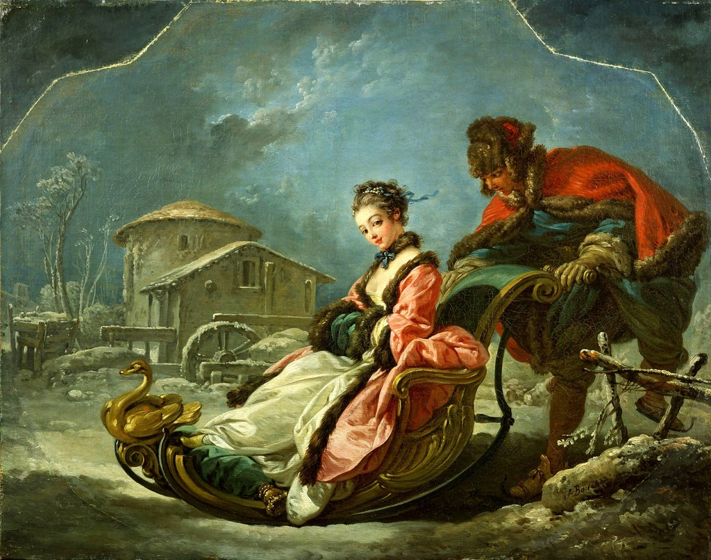 The Four Seasons: Winter by François Boucher, 1755