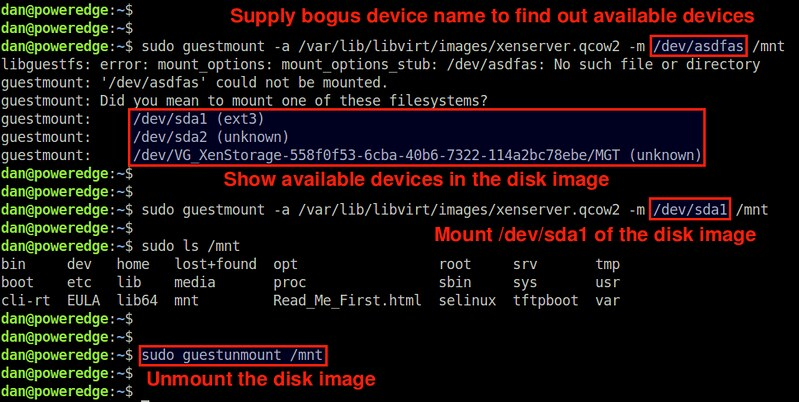How to mount qcow2 disk image on Linux - Ask Xmodulo
