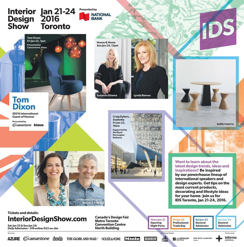 Ids16 G M Ad Jan20 Final Interior Design Show Toronto
