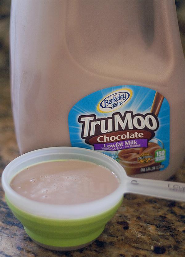 @TruMoo chocolate milk
