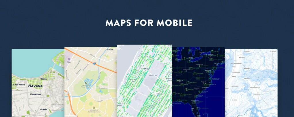 Mobile | Mapbox