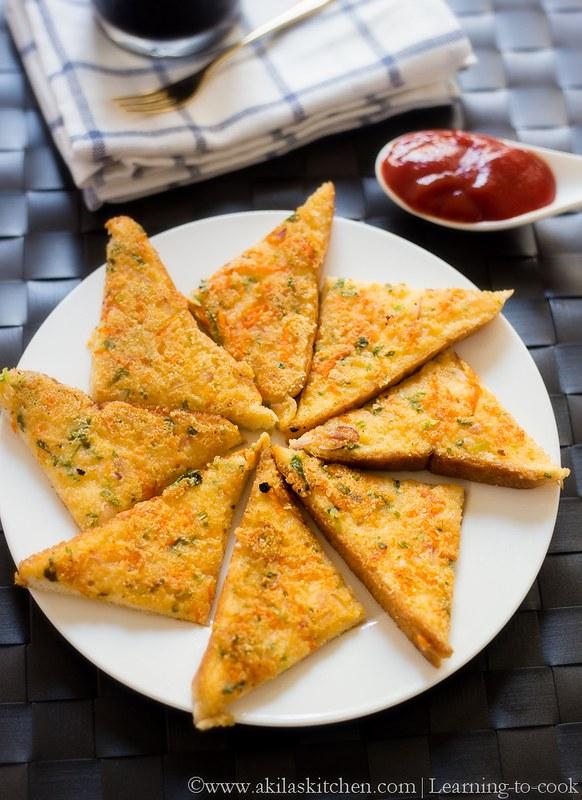 Rava Bread Toast