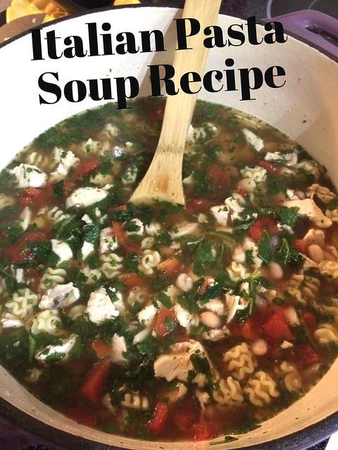 Italian Pasta Soup Recipe - www.GirlMeetsFitness.net
