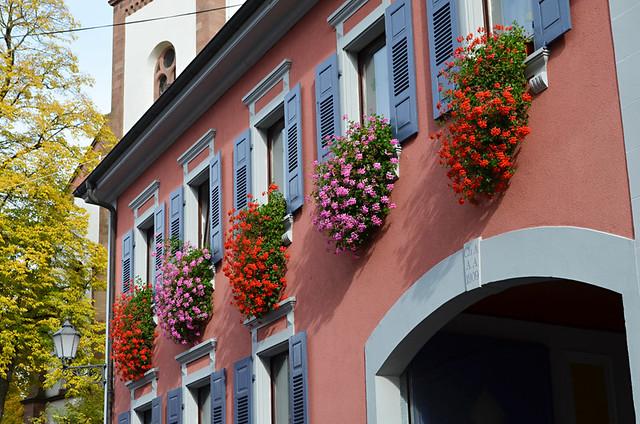 Ihringen town centre, Kaiserstuhl, Germany