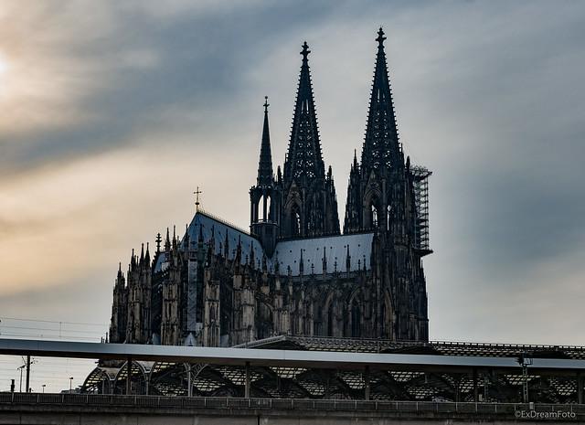 Kölner Dom vom Musical-Dom aus fotografiert