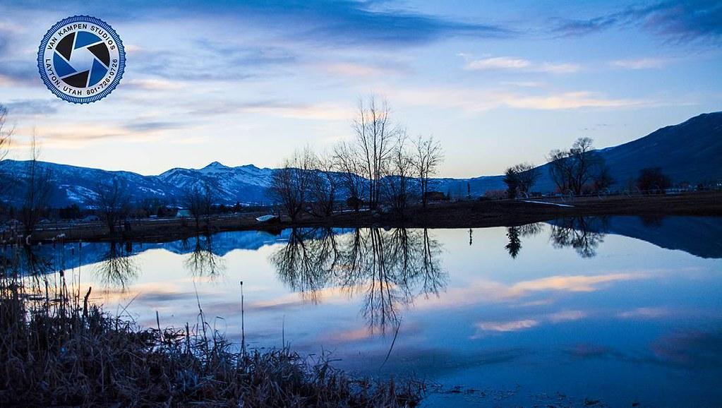 Beautiful Reflection On A Pond In Huntsville Utah Huntsv Flickr