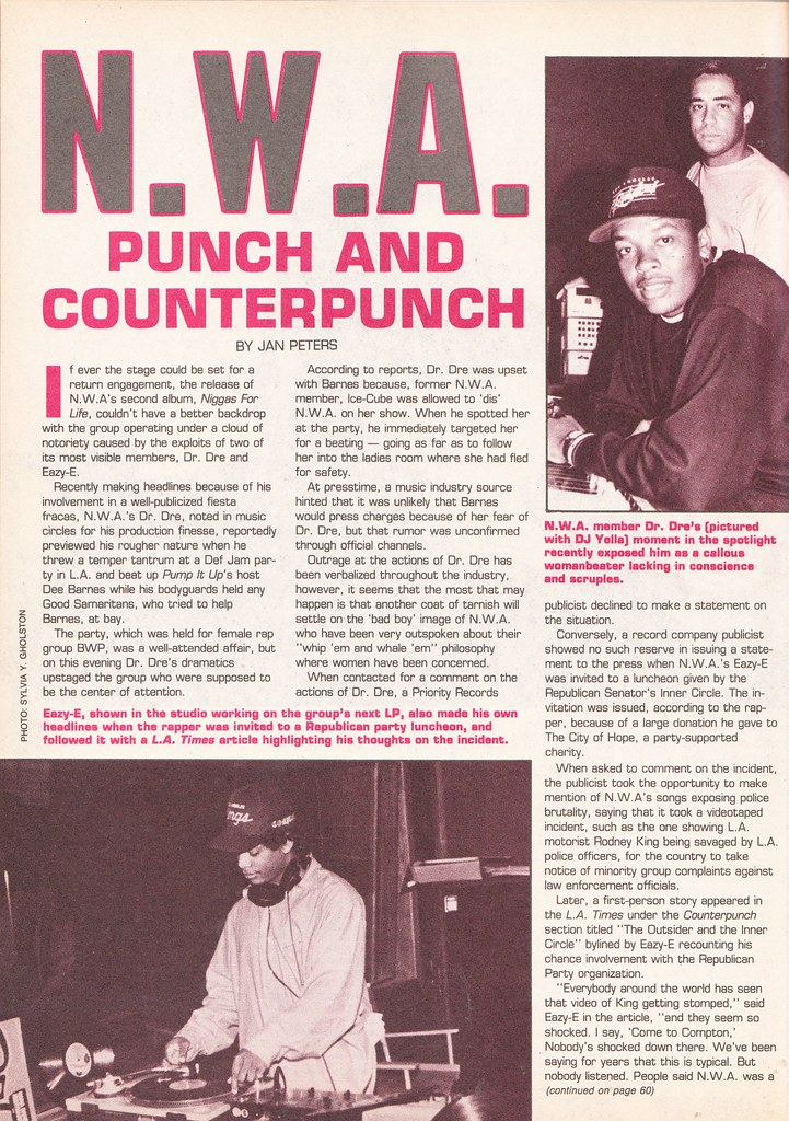 Rap Masters article