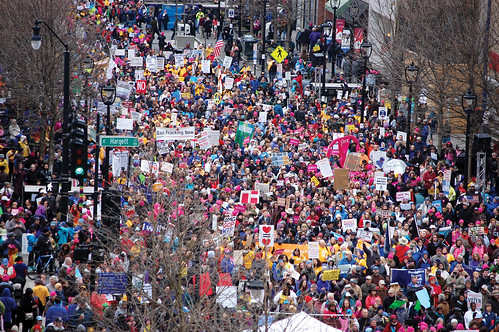 Raleigh, NC state capitol - rally 2015