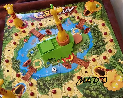 jeu de société Giraf'fun plateau
