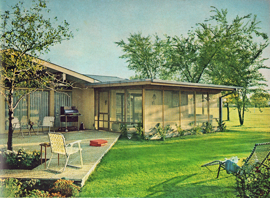 Popular home ideas march april 1964 for Mid century modern architects houston