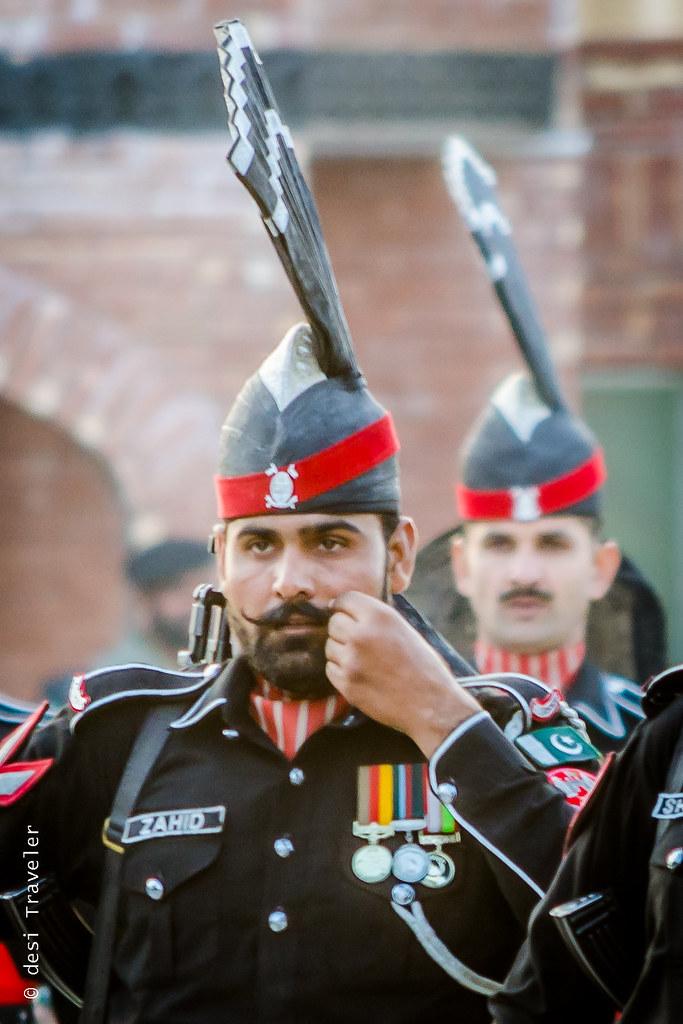 Pakistan Rangers Wagah Border Parade