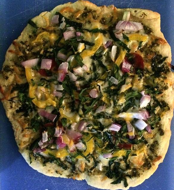 Quick clean pizza dough - girlmeetsfitness.net