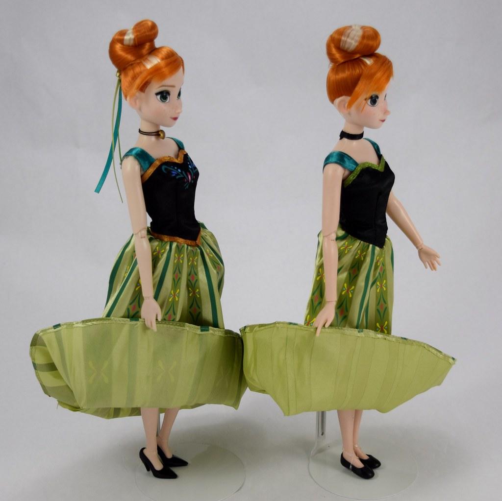 Disney Store Fashion Set Anna Doll In Disney Parks Coronat