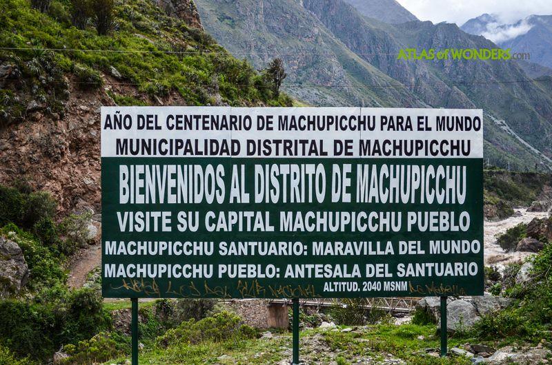 Too much Machu Pichu