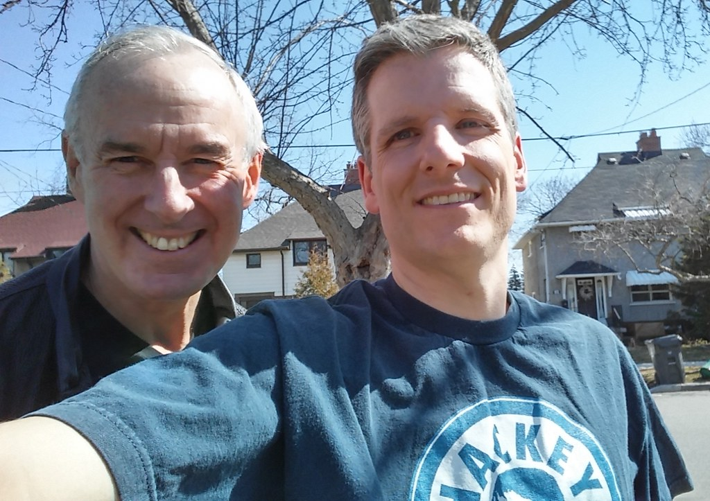 Ron MacLean and Me