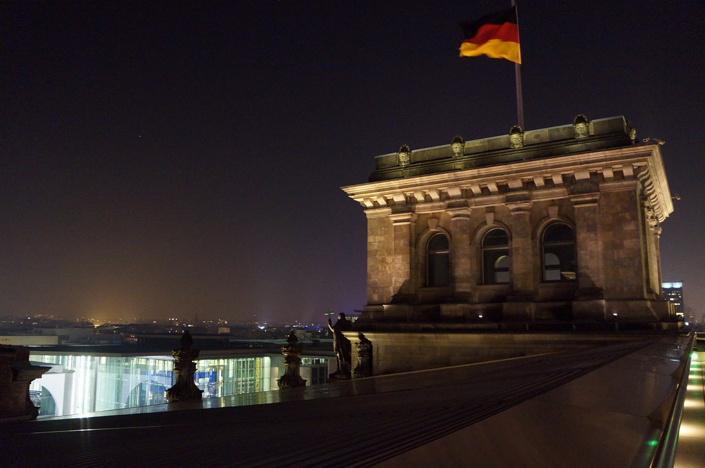 On top of the Reichstag