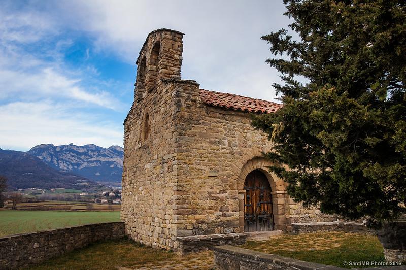 Santa Maria d'Avià y la Serra de Queralt