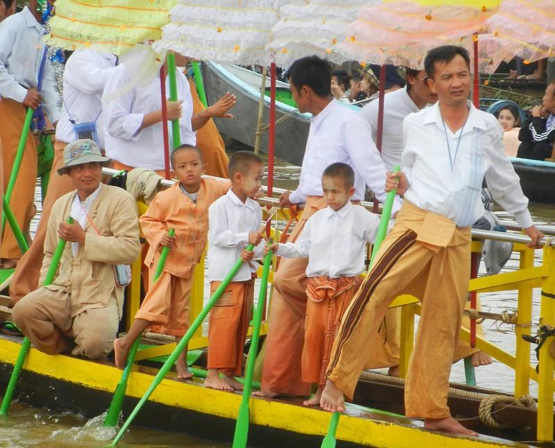 Пхаунг До У культовые лодки