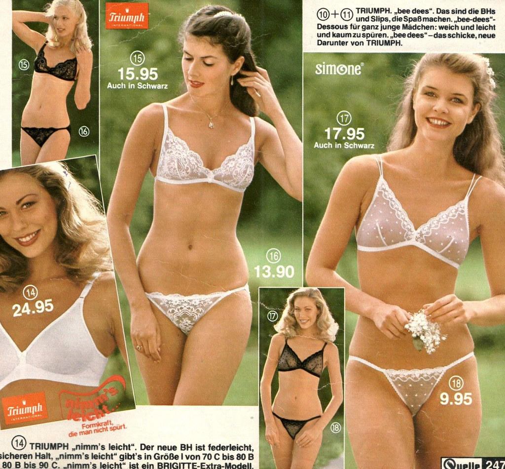 retrospace: catalogs #45: bra + panties (part 1)