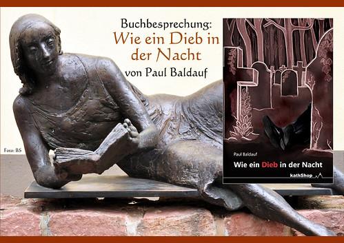 Buchbesprechung Rezension Wie ein Dieb in der Nacht Paul Baldauf Autor Krimi Regionalkrimi Pfalz Pfalzkrimi Speyer Foto Brigitte Stolle Mannheim