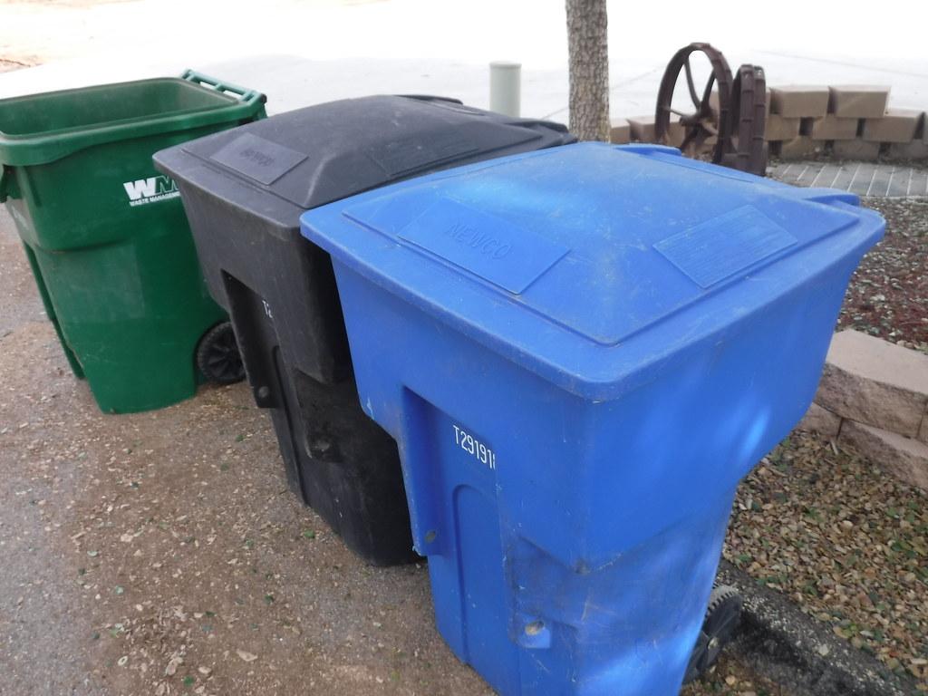 newco waste systems carts waste management moreno valley u flickr. Black Bedroom Furniture Sets. Home Design Ideas