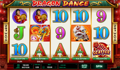 Dragon Dance slot game online review
