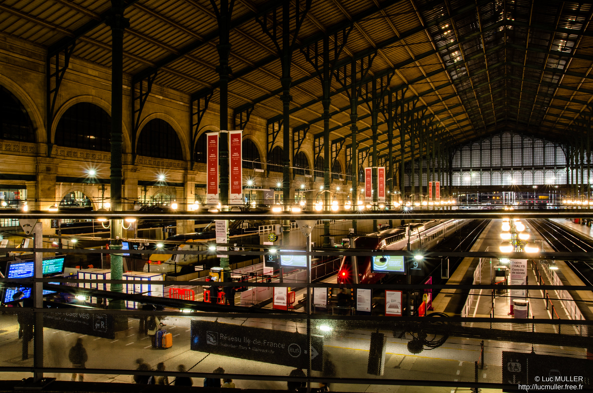 Gare du Nord © Luc Muller