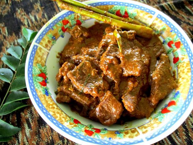 Beef rendang 2