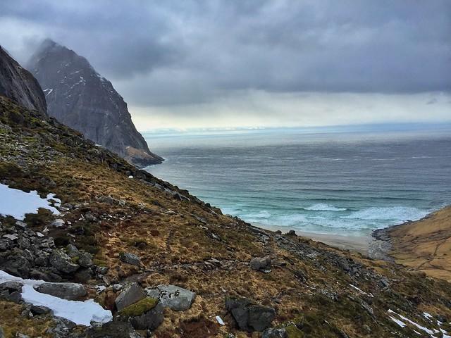 La Playa de las ballenas (Islas Lofoten, Laponia Noruega)