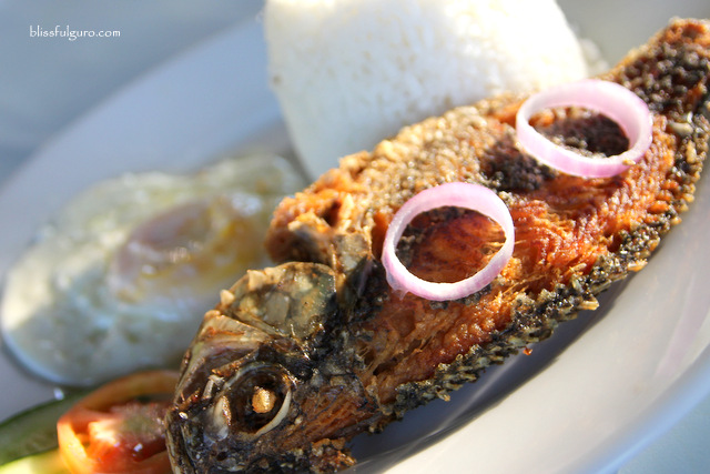 Fried Tilapia Sunrise Garden Resort Lake Sebu